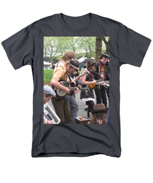 Homestyle Band Men's T-Shirt  (Regular Fit) by David Trotter