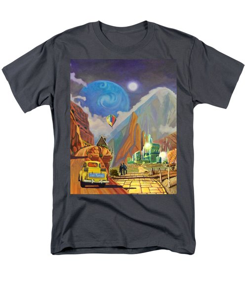 Men's T-Shirt  (Regular Fit) featuring the painting Honeymoon In Oz by Art West