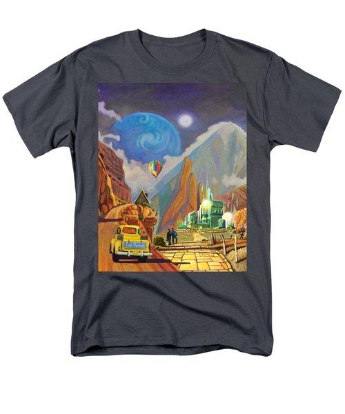 Honeymoon In Oz Men's T-Shirt  (Regular Fit) by Art West