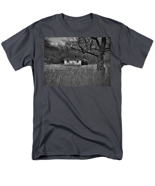 Horse Shed Men's T-Shirt  (Regular Fit) by Robert Geary