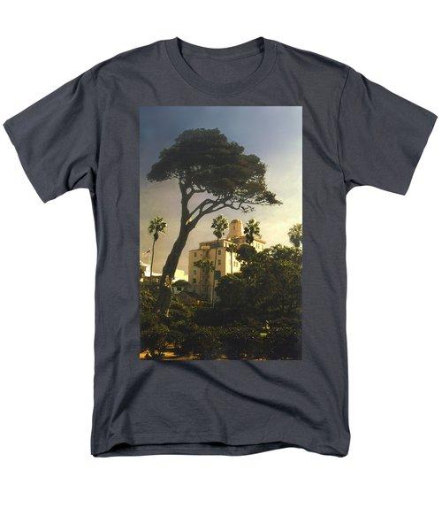 Hotel California- La Jolla Men's T-Shirt  (Regular Fit) by Steve Karol