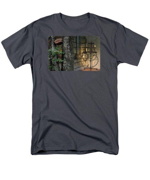 Haunted Cloister - Mea Culpa Men's T-Shirt  (Regular Fit) by Yvonne Wright
