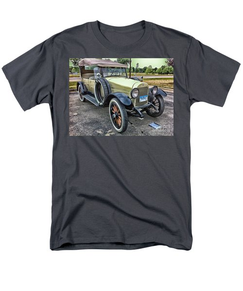 Men's T-Shirt  (Regular Fit) featuring the photograph hudson 1921 phaeton car HDR by Paul Fearn