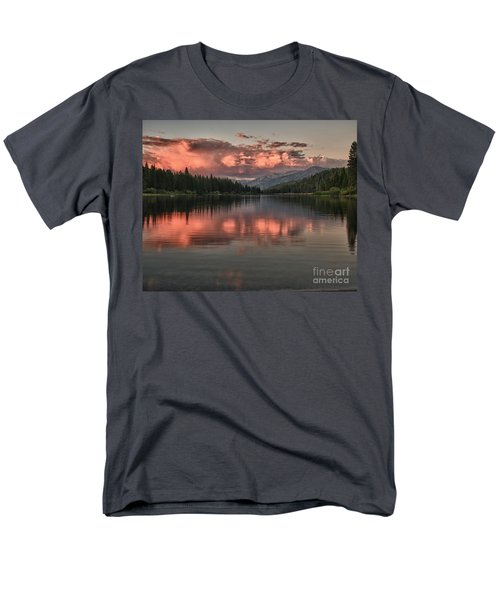 Hume Lake Sunset Men's T-Shirt  (Regular Fit) by Terry Garvin