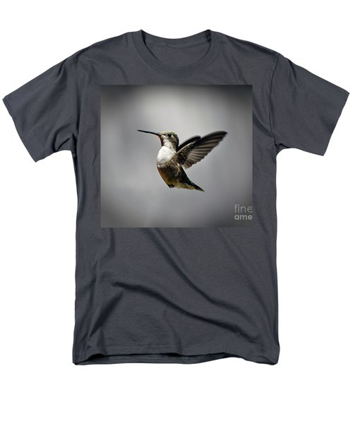 Hummingbird Men's T-Shirt  (Regular Fit) by Savannah Gibbs