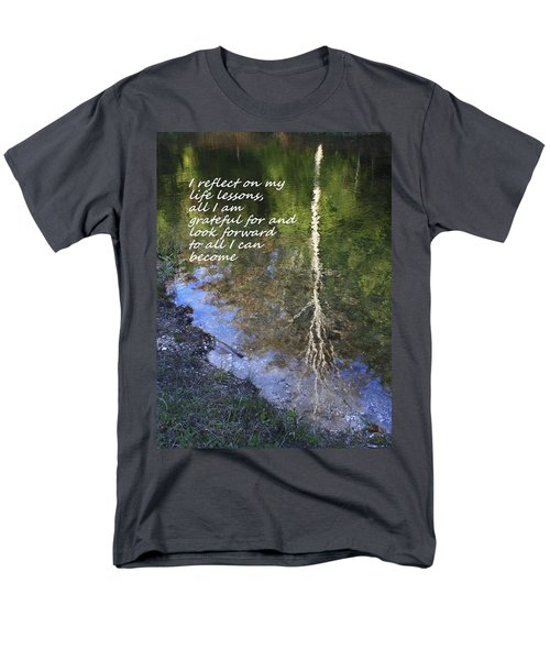 Men's T-Shirt  (Regular Fit) featuring the photograph I Reflect by Patrice Zinck