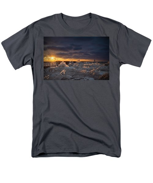 Ice Fields Men's T-Shirt  (Regular Fit) by James  Meyer