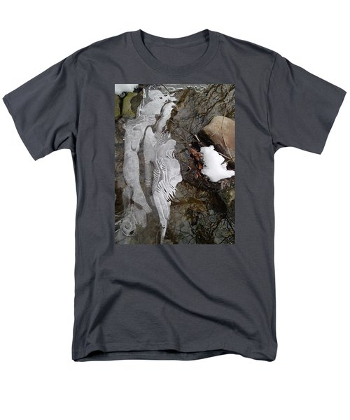 Ice Flow Men's T-Shirt  (Regular Fit) by Robert Nickologianis