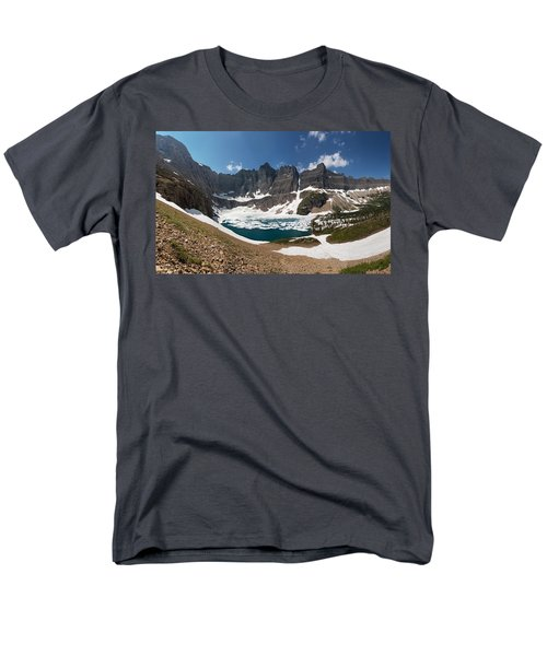 Men's T-Shirt  (Regular Fit) featuring the photograph Iceberg Lake by Aaron Aldrich