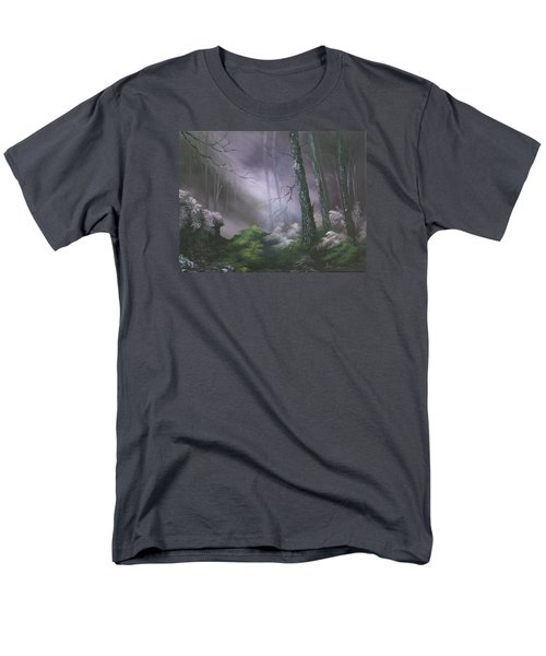 If You Go Down In The Woods Today ? Men's T-Shirt  (Regular Fit) by Jean Walker