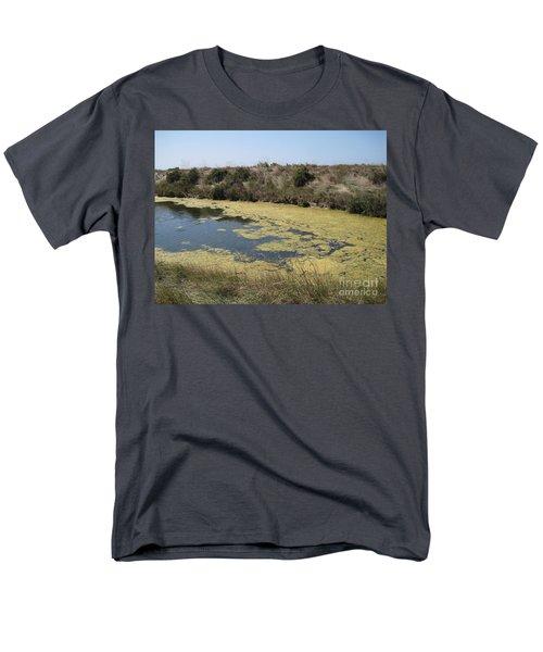 Ile De Re - Marshes Men's T-Shirt  (Regular Fit) by HEVi FineArt