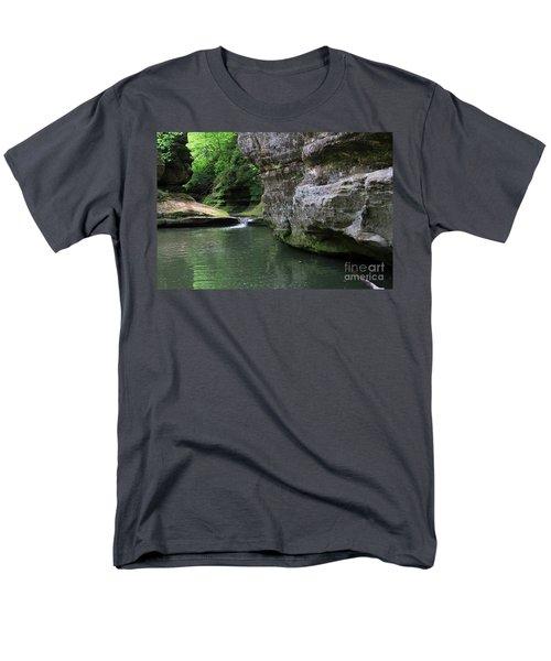 Illinois Canyon May 2014 Men's T-Shirt  (Regular Fit) by Paula Guttilla