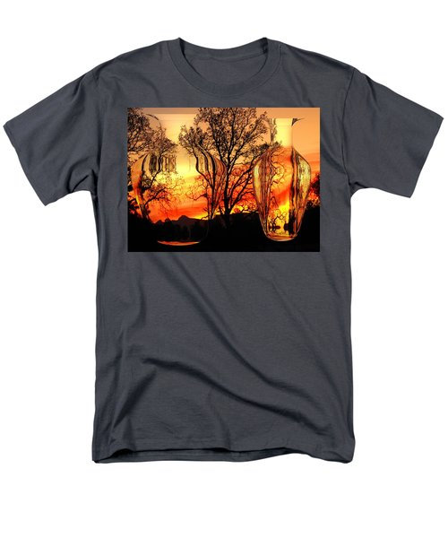 Men's T-Shirt  (Regular Fit) featuring the photograph Illusion by Joyce Dickens