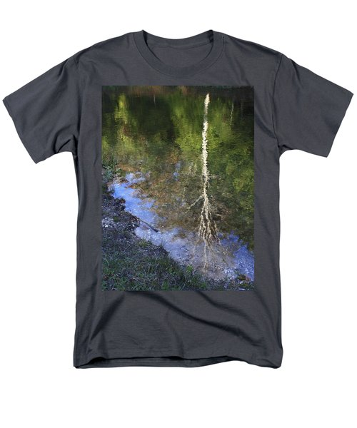 Men's T-Shirt  (Regular Fit) featuring the photograph Impressionist Reflections by Patrice Zinck