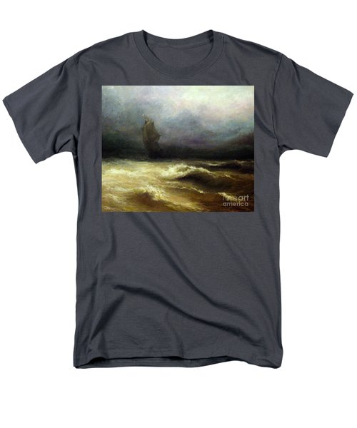 Men's T-Shirt  (Regular Fit) featuring the painting In Shadow by Mikhail Savchenko