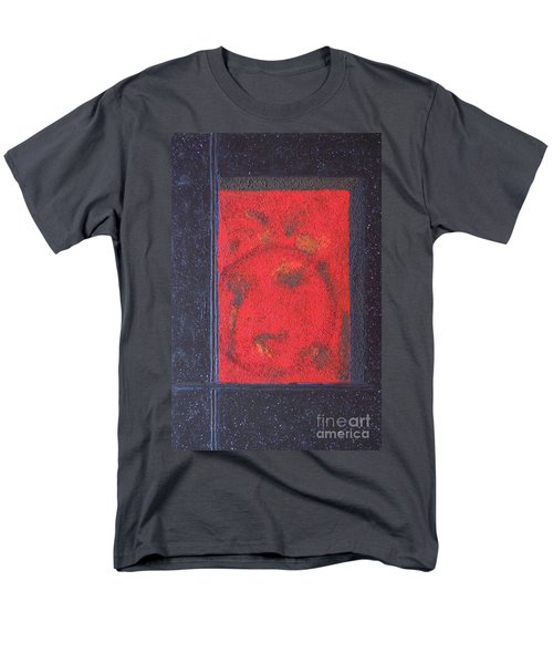 Men's T-Shirt  (Regular Fit) featuring the painting In The Night Sky by Mini Arora