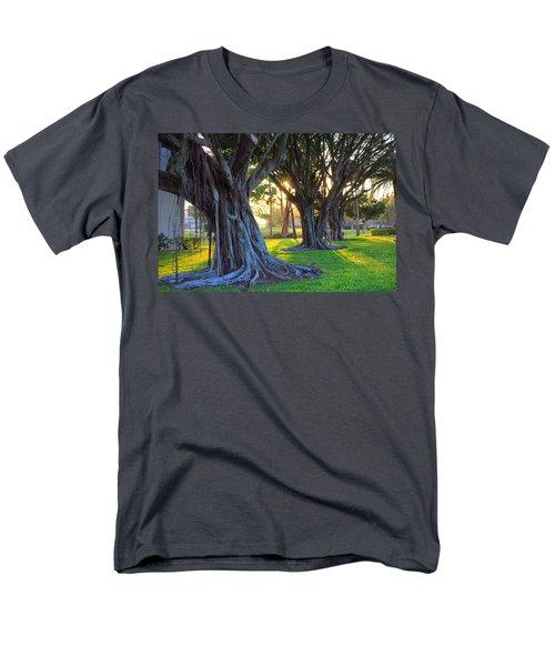 Indian Sunset Men's T-Shirt  (Regular Fit) by Iryna Goodall
