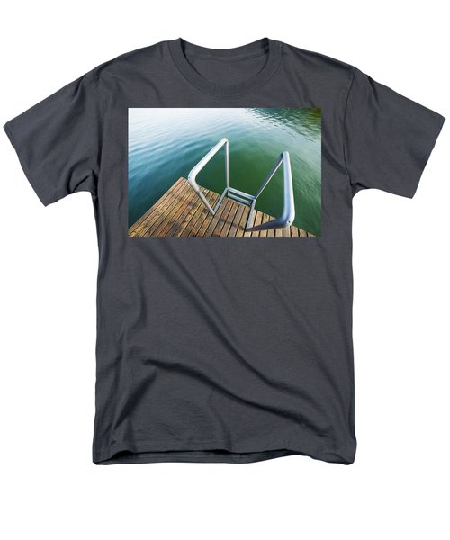 Men's T-Shirt  (Regular Fit) featuring the photograph Into The Water by Chevy Fleet