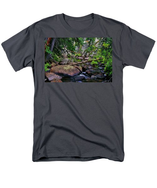 Men's T-Shirt  (Regular Fit) featuring the photograph Ivanhoe Serenity by Jeremy Rhoades
