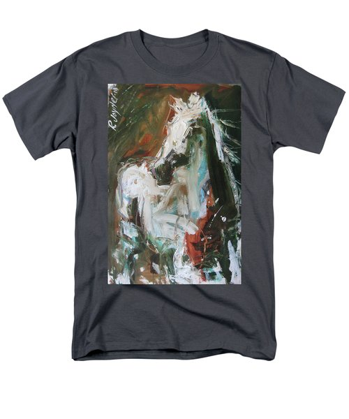 Men's T-Shirt  (Regular Fit) featuring the painting Ivory by Robert Joyner