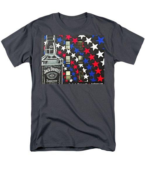 Men's T-Shirt  (Regular Fit) featuring the photograph Jack Daniel's Wall Art by Joan Reese