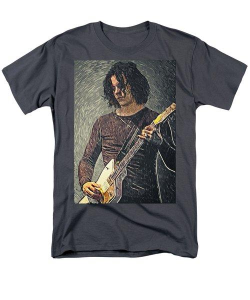Jack White Men's T-Shirt  (Regular Fit) by Taylan Apukovska