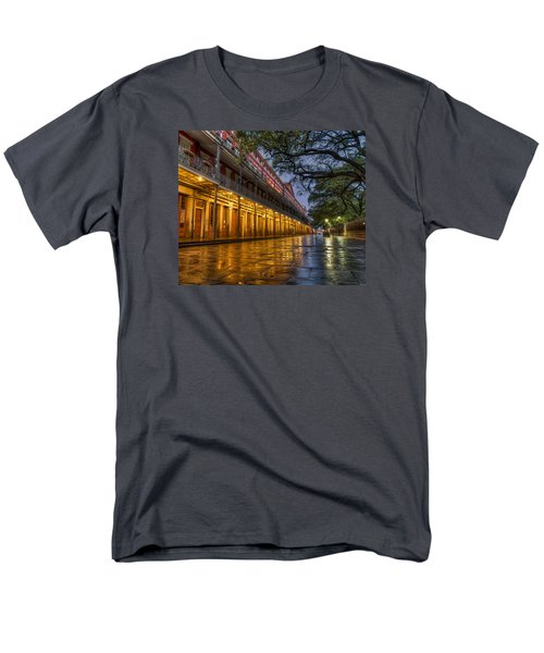 Jackson Square Reflections Men's T-Shirt  (Regular Fit) by Tim Stanley