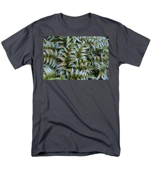 Men's T-Shirt  (Regular Fit) featuring the photograph Japanese Ferns by Kathryn Meyer