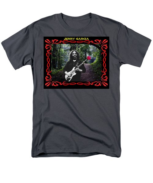 Men's T-Shirt  (Regular Fit) featuring the photograph Jerry Road Rose 3 by Ben Upham
