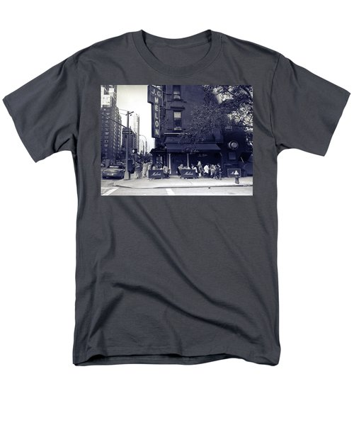 J.g. Melon - Manhattan  Men's T-Shirt  (Regular Fit) by Madeline Ellis