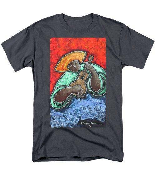 Jibaro Encendi'o Men's T-Shirt  (Regular Fit) by Oscar Ortiz