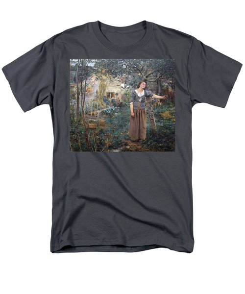 Joan Of Arc Men's T-Shirt  (Regular Fit) by Jules Bastien-Lepage