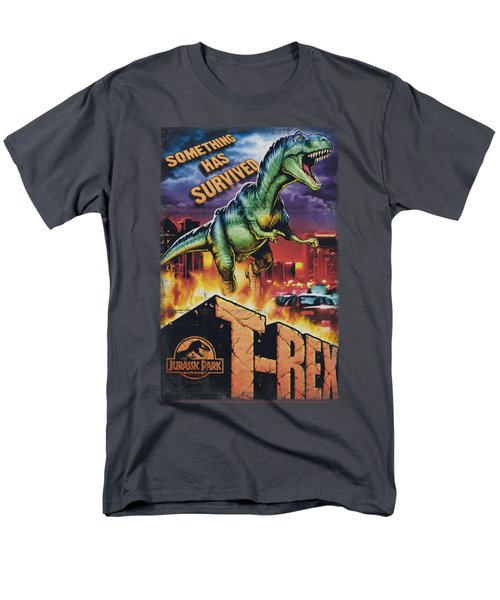 Jurassic Park - Rex In The City Men's T-Shirt  (Regular Fit) by Brand A