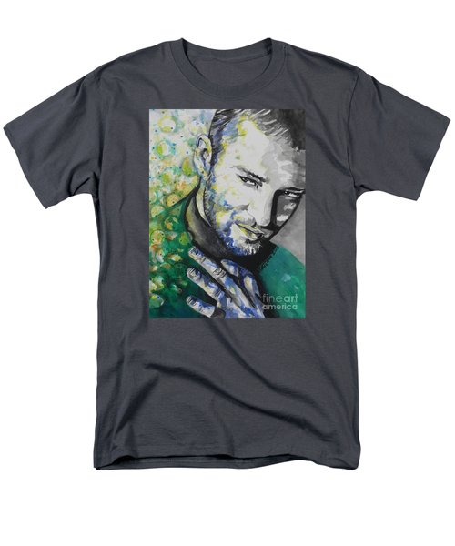 Justin Timberlake...01 Men's T-Shirt  (Regular Fit) by Chrisann Ellis