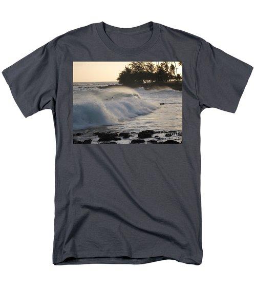 Kauai - Brenecke Beach Surf Men's T-Shirt  (Regular Fit) by HEVi FineArt