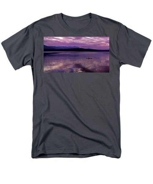 Men's T-Shirt  (Regular Fit) featuring the photograph Kayak On Dabob Bay by Greg Reed