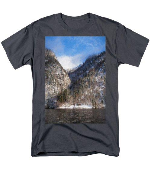Koenigsee Men's T-Shirt  (Regular Fit)