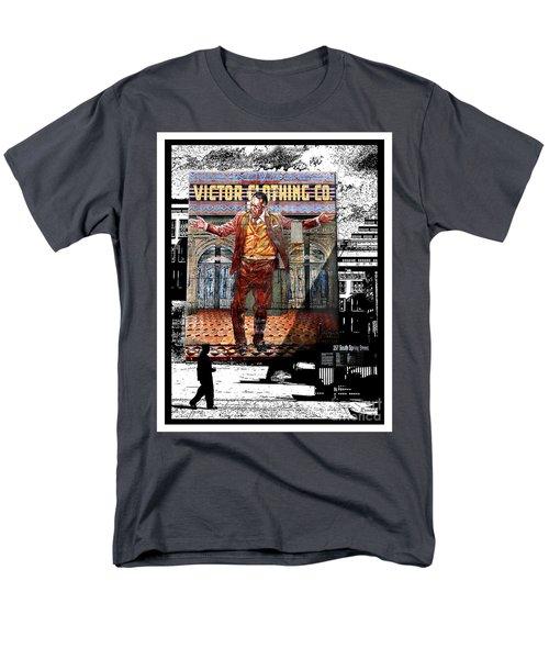 Men's T-Shirt  (Regular Fit) featuring the digital art La City Beat Digitized by Jennie Breeze