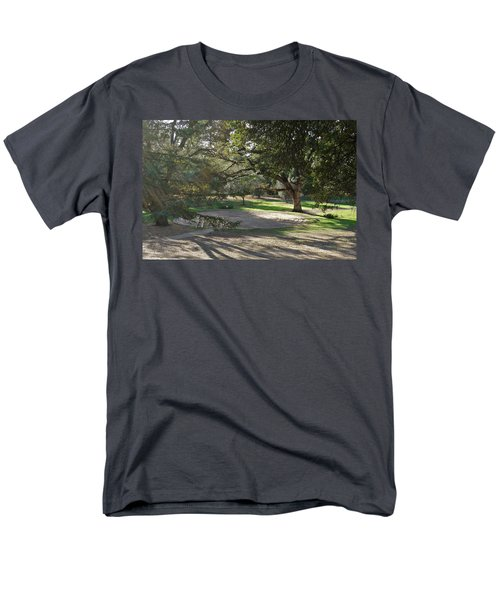 Labyrinth Retreat Men's T-Shirt  (Regular Fit) by Michele Myers