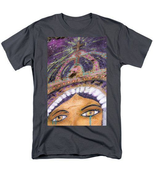 Men's T-Shirt  (Regular Fit) featuring the photograph Lady Of Tears by Steven Bateson