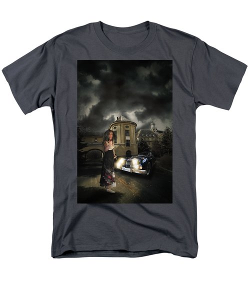 Lady Of The Night Men's T-Shirt  (Regular Fit) by Nathan Wright