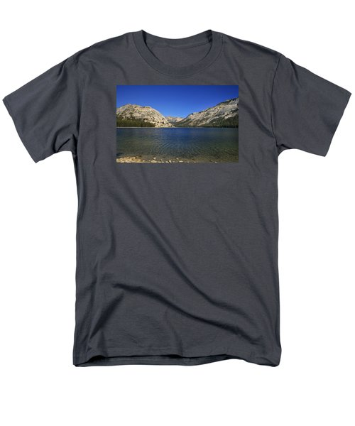 Lake Ellery Yosemite Men's T-Shirt  (Regular Fit) by David Millenheft