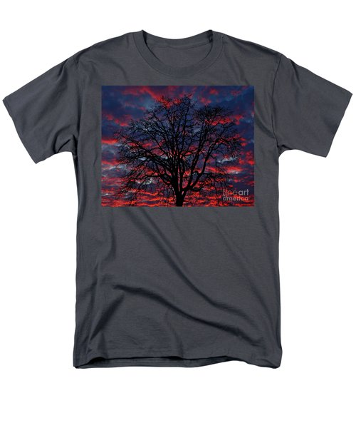 Men's T-Shirt  (Regular Fit) featuring the photograph Lake Oswego Sunset by Nick  Boren