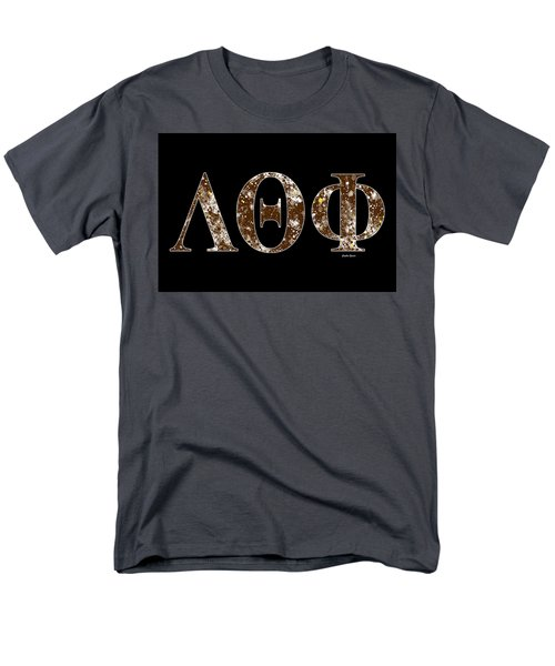 Lambda Theta Phi - Black Men's T-Shirt  (Regular Fit) by Stephen Younts