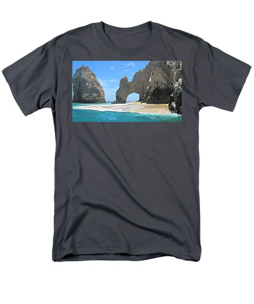 Lands End  Men's T-Shirt  (Regular Fit) by Marilyn Wilson