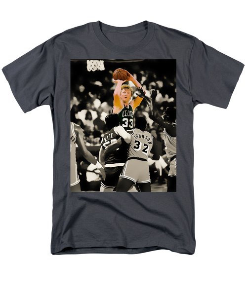 Larry Bird Men's T-Shirt  (Regular Fit) by Brian Reaves