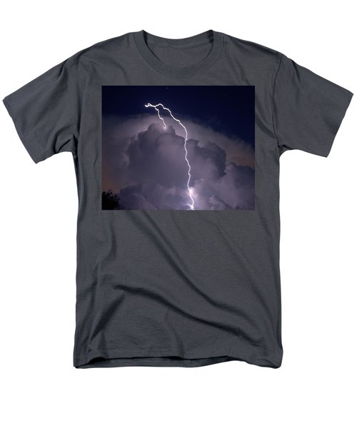 Men's T-Shirt  (Regular Fit) featuring the photograph Lashing Out by Charlotte Schafer