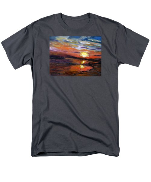 Last Sun Of Day Men's T-Shirt  (Regular Fit) by Michael Helfen