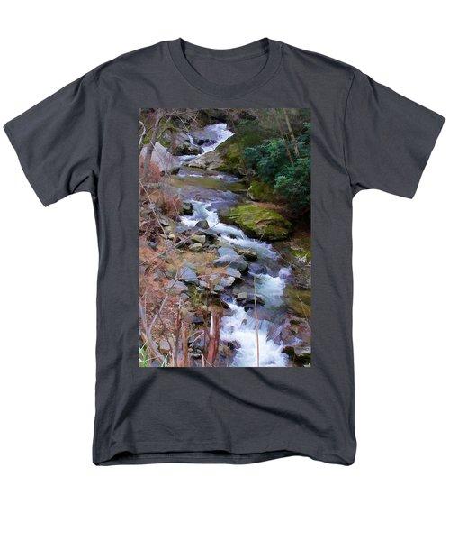 Laurel Creek  Men's T-Shirt  (Regular Fit) by Tom Culver
