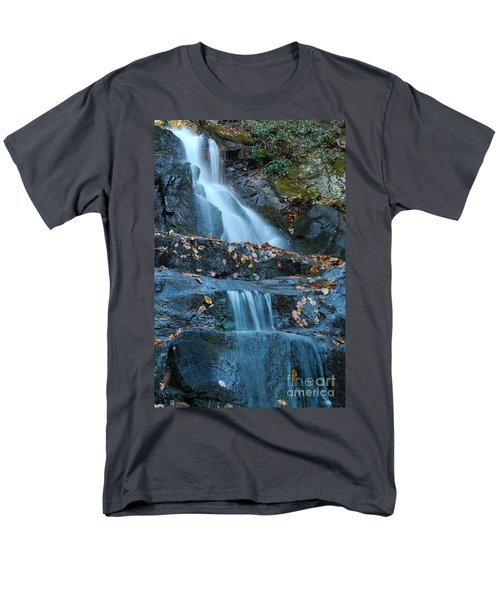 Men's T-Shirt  (Regular Fit) featuring the photograph Laurel Falls by Patrick Shupert